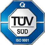 TÜV-geprüft nach ISO 9001